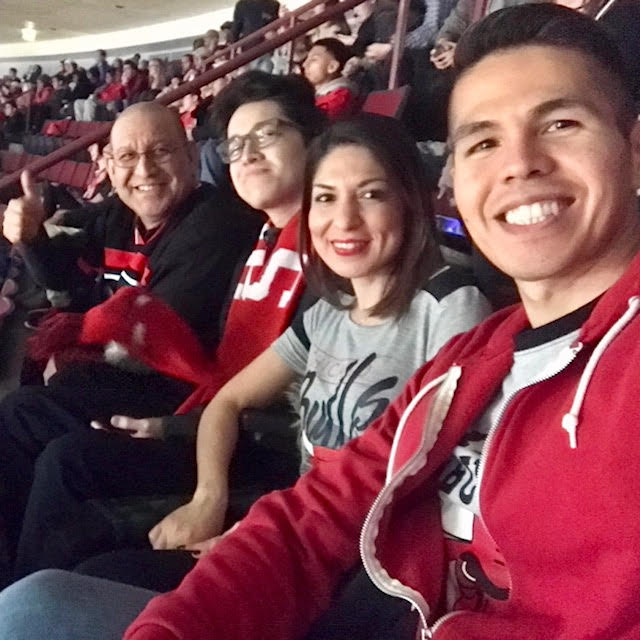 bulls with family