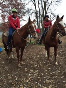 horseback in Wisconsin